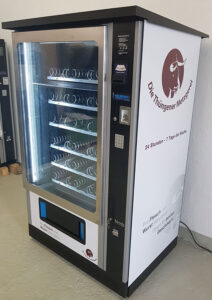 vendCom Hofladen leerer Automat
